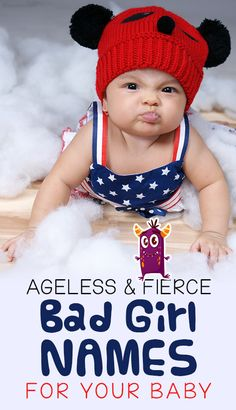 30 Ageless And Fierce Bad Girl Names For Your Baby : Bad girl names are edgy, fiery and anything but boring. So, here is our collection of some of the best bad baby girl names in the history of humanity. Bad Girl Names, Twin Girl Names, Cool Baby Girl Names, Middle Names For Girls, Unisex Baby Names, Twin Baby Girls, Cool Baby Stuff, Baby Baby, Bad Girls