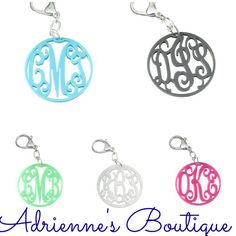 Keychains make great gifts!! Place your order with Adrienne's Boutique today. 225-622-3156