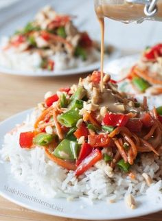 Coconut Peanut Chicken Satay Stir-Fry,  change out the soy sauce for amino acid and the honey for stevia.  woohoo!!