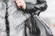 Woman Holding Her Black Leather Bag Close Up Free Stock Photo Black Leather Bags, Big Bags, Sexy Skirt, Free Stock Photos, Cool Outfits, Shoulder Bag, Handbags, Rosamund Pike, Baggage