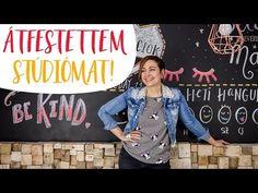 Átfestettem stúdiómat! | Készíts Te is motiváló krétatábla falat, megmutatom hogyan! - YouTube Denim, Youtube, Jackets, Fashion, Down Jackets, Moda, Jacket, Fasion, Youtubers