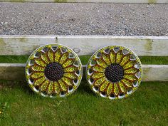 Sunflower Hubcaps! I'd love these for my Camry!