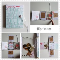 Flip book. Made by patricia