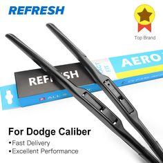 Big discount US $13.66  REFRESH Wiper Blades for Dodge Caliber Fit Hook Arms 2006 2007 2008 2009 2010 2011 2012 2013  #REFRESH #Wiper #Blades #Dodge #Caliber #Hook #Arms  #Internet