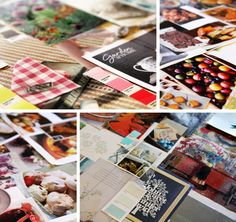 Mood board inspiration for branding and logo design for Tipple Tails, a Sheffield-based fruit cake company