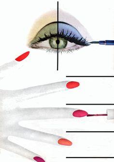Alexey Brodovitch for Harpers Bazaar, 1960s.