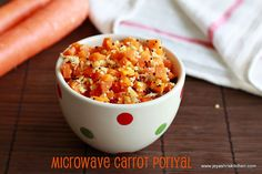 Carrot-poriyal