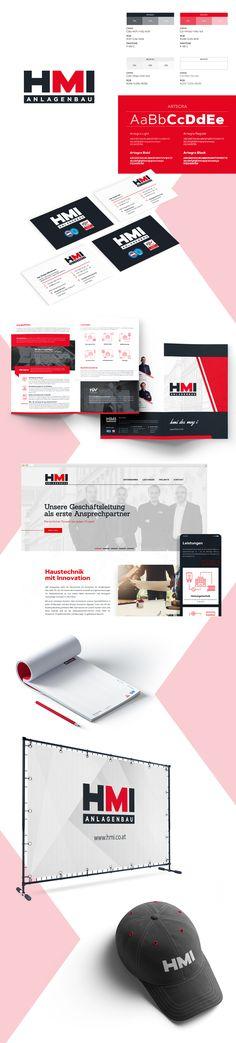 HMI Anlagenbau - Corporate Design - designed by Designerpart - www.designerpart.com