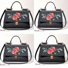 Κεντητή Dolce... www.handibrand.gr Louis Vuitton Damier, Chanel, Handbags, Rugs, Fashion, Purses, Farmhouse Rugs, Moda, Types Of Rugs