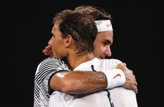 Roger Federer France (@RogerFederer_Fr) | Twitter RF et Nadal - accolade de fin de match - Open d'Australie 2017
