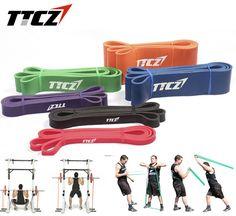 6 Pcs/Set Fitness Resistance Bands Exercise Tubes Latex Body Training Bands  CrossFit Loop Bodybulding Yoga Bands