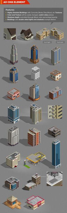 Isometric Map Generator by design hatti, via Behance