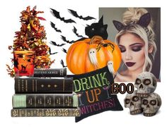 """halloween"" by irelandprep ❤ liked on Polyvore featuring art"