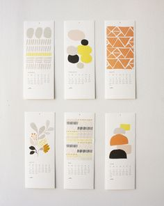 2013 12 Month Calendar. $32.00, via Etsy.