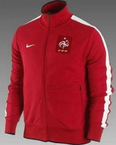 2012 2013 Veste foot N98 France Rouge 28 - http://www.fastorn.com/