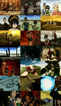 Sokka & Toph moments