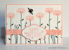 JanB Handmade Cards Atelier: Daisy Delight and Brick Wall