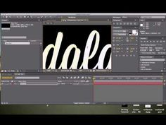 How to Create Self Writing Text in After Effects (TUMBLR) - YouTube