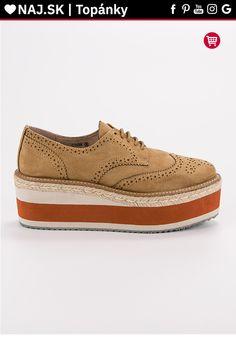 Béžové topánky na platforme Corina Timberland, Vans, Platform, Sneakers, Shoes, Fashion, Tennis, Moda, Slippers