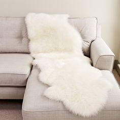 Ivory Large Sheepskin Woods Furniture Dorchester Dorset