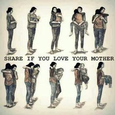 Eloquently expresses love for your mom and love as a mom