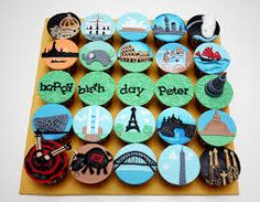 International Happy Birthday, Peter cupcakes