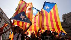 """A Spanish minister tells Sky News police action during referendum clashes is """"absolutely proportionate"""".People hold Catalan flags during protests over the referendum in Barcelona Catalan ministers will be """"outlaws"""" if they defy courts and declare independence the Spanish government has warned.  Ildefonso Castro secretary of state for foreign affairs has insisted a violent police crackdown against Catalan voters was """"absolutely proportionate"""". It comes as huge rallies are taking place in both…"""