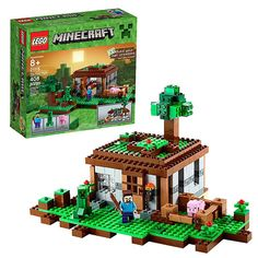 LEGO Minecraft Creative Adventures 21115 The First Night - LEGO - Minecraft - Construction Toys at Entertainment Earth #lego #minecraft #merchandise [affiliate-link]