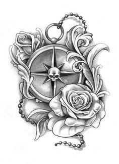 rosen rosenzeichnungen and tattoos zeichnen on pinterest. Black Bedroom Furniture Sets. Home Design Ideas