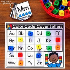 Back to School Morning Tubs for Kindergarten Kindergarten Morning Work, Kindergarten Lesson Plans, Kindergarten Centers, Preschool Literacy, Preschool Letters, Letter Activities, Learning Letters, Literacy Centers, Letter Recognition Kindergarten