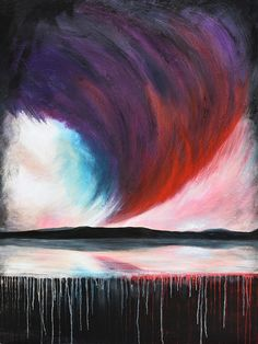 Storm Front - Acrylic on canvas - by New Zealand artist Julian Hindson - 900mm x 1200mm - www.hindson.co.nz Edge Of Tomorrow, Storm Front, New Zealand, Waves, Landscape, Artist, Painting, Outdoor, Outdoors