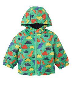Mothercare Dinosaur Fleece Lined Mac