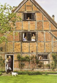 Princess Marie-Chantal's London town house;  Nov '06 House & Garden Mag via Duchess Fare