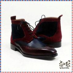 The perfect look ✅ Neo - Deluxe burgundy suede Boots for just $349.99.  Order here 🎯     #smallsizeboots #leather #startatsize5 #ankleboots #largesizeboots #handmadeshoes #oxfordshoes #classyshoes #runit365 #runyourstyle