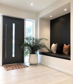 Dream Home Design, Decor Interior Design, Interior Decorating, Home Entrance Decor, House Entrance, Home Fashion, Home Decor Inspiration, Home And Living, Interior Architecture