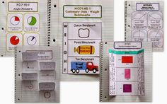 Interactive Math Notebook MD (Measurement & Data) – 4th Grade:  This huge interactive notebook packet comes complete with pages for MD.1, MD.2, MD.3, MD.4, MD.5, MD.6, MD.7.  It includes pictures for showing how you could set up the pages, vocabulary, helpful hints, examples, resources, and much more. My students use these pages in one way or another every day. I would be lost without them! $