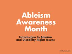 For several years, autism organizations led by non-autistic parents and professionals have focused on Autism Awareness in the month of April. Autistic people have pushed back on the Awareness campa…