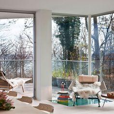nichts st rt den ausblick air lux fenster sind boden und deckenb ndig und rahmenlos. Black Bedroom Furniture Sets. Home Design Ideas