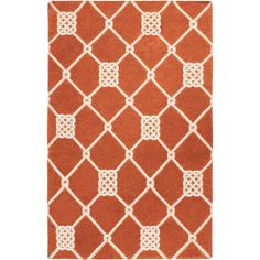Refresh your home for summer with this must-have design.   Product: RugConstruction Material: 100% Wool