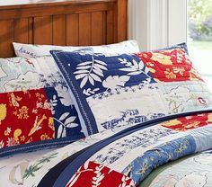 Found this bedding forever ago on PBK...and I am in love. Just continues with our Jimmy Buffett theme around the house