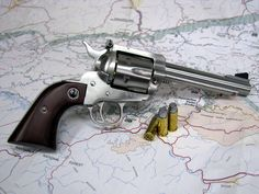 Super awesome .44 special Ruger Stainless Flattop.