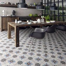 Cementine Porcelain Deco Tile | Wall | Cladding | Vertical | Water Feature | Arizona Tile