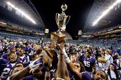 Washington Huskies 2011 Apple Cup Win. Century Link Field
