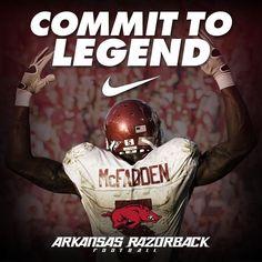 Darren McFadden was a beast for the Arkansas Razorbacks. Description from  sportinglifearkansas.com. d79428d7b