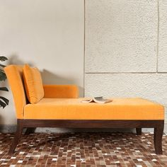 #Susan Chaise - It's time somebody designs the perfect settee to take away your fatigue. The Susan Chaise is a magnificent sofa, crafted just for that. Made of Solid Sheesham wood, with a mellow base, and a stylish backrest, it's made to rejuvenate you.