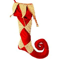Mark Roberts Pearl Jester Christmas Stocking