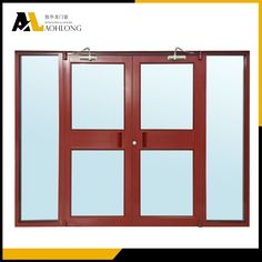 China Aluminum KFC Entry Door
