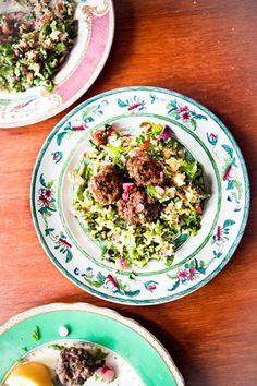 Hemsley & Hemsley Meatballs And Cauliflower Tabbouleh Recipe (Vogue.com UK)
