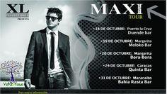 """Maxi Vargas visitará Venezuela con su Tour """"Renacer"""" en Octubre"""