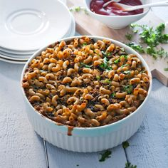 Good Food, Yummy Food, Tasty, Black Eyed Peas, Lunches And Dinners, Dog Food Recipes, Nom Nom, Beans, Food And Drink
